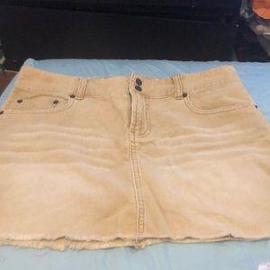 Abercrombie corduroy skirt